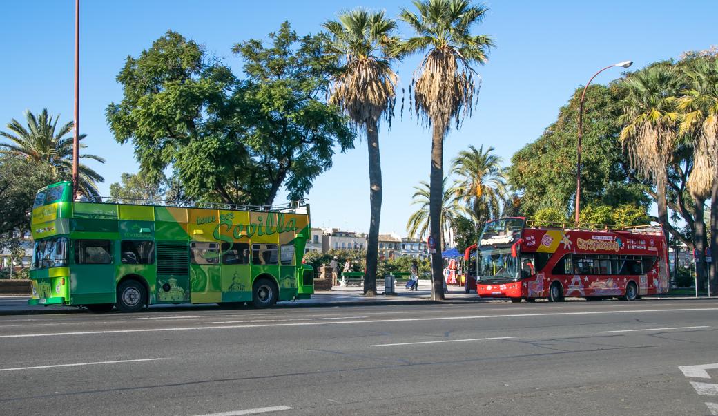 hop-on-hop-off in Sevilla