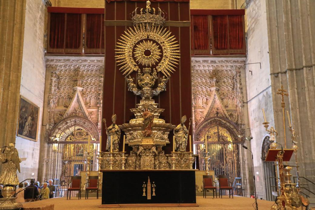Kathedraal van Sevilla interieur